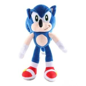 Sonic Super Hedgehog Plush Toy Shadow Knuckles Tails Cute Soft Stuffed Dolls