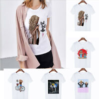 Wholesale Fashion Women's Casual T-shirt Short Sleeve Round Neck T-Shirts