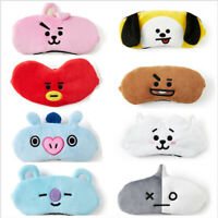 KPOP BT21 Cute Plush Eye Mask Comfortable Breathable Lunch Break Eye Mask