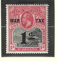 St. Helena Stamp Scott #MR2, Used Heavily Hinged