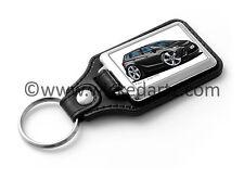 WickedKarz Cartoon Car Vauxhall Zafira Tourer C SRi 2011+ Black Key Ring