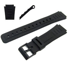 Replacement Watch Strap 17mm for Casio CMD10, CMD20, DBX103, EXP10, DBC30