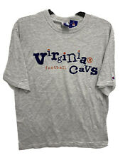 Vintage 90s Virginia Cavaliers Champion Graphic Shirt Grey Size Large NWT