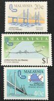 Malaysia #311-313 MNH CV$8.15
