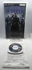 The Matrix -Complete CIB - Sony Playstation Portable PSP UMD Video Movie