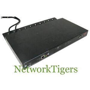 APC AP7750 120V 15A 8x NEMA 5-15R w/ AP9617 Automatic Transfer Switch