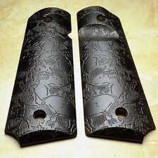 1911 Pistol Grips .25 Thickness -  Skull Pattern (full size)