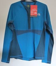 The North Face Women's ALLOY MERINO TOP Crew Neck L/S Top Base Layer M Blue 10