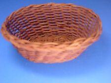 Miniature Wicker Basket Hand Made of Wicker #Z405