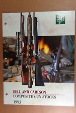 1993 Bell & Carlson Composite Gun Stocks Brown-N-Leaf, Camo, Textured, Mossy Oak