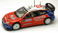 Model Car Rally Scale 1:43 Vitesse diecast Citroen Xsara N.1 Italy