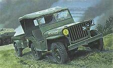 Heller 81105 - 1:35 Jeep Willis & Trailer - Neu