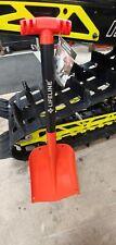 1  Red Aluminum Collapsible Snowmobile Shovel Polaris Yamaha SkiDoo Arctic Cat