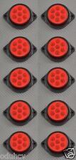 10 x 7 LED 12V LATO post. INDICATORE ROSSO LUCI AUTO SUV Camper 4X4 PICK-UP