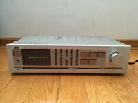 JVC A-X40 50-Watts Stereo Integrated Amplifier Silver Super-A 1982 Japan