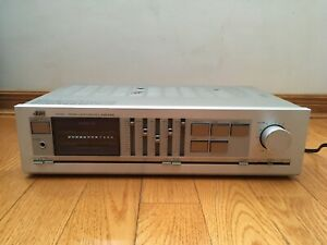 JVC A-X40 50-watts per channel Stereo Integrated Amplifier 1982 Japan TESTED