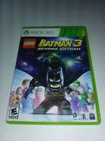Lego Batman 3 Beyond Gotham Xbox 360 Complete Disc Is Mint 0 Scratches Very Fast