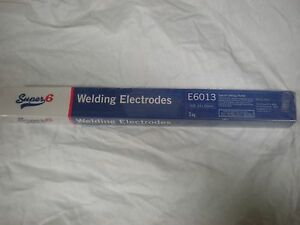 6013 Mild Steel Rutile 2.5mm x 350mm x 1kg Arc Welding Electrodes / Rods / Stick