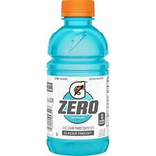 Gatorade Zero Sugar Thirst Quencher - Glacier Freeze 12 Oz 24 Count