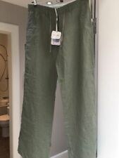 Fat Face Linen Other Casual Trousers for Women