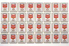 MODERN ART  FRIDGE MAGNET - ANDY WARHOL CAMPBELLS SOUP