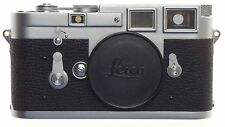 LEICA M3 LEITZ RANGE FINDER 35mm FILM CAMERA BLACK CHROME BODY SEAL INTACT CLEAN