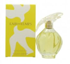 NINA RICCI L'AIR DU TEMPS EAU DE TOILETTE 100ML SPRAY - WOMEN'S FOR HER. NEW