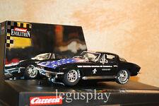 Slot car SCX Scalextric Carrera 25743 Evolution Corvette Sting Ray S S4Ever