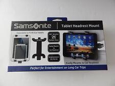 Samsonite Universal Tablet iPad Headrest Car Mount Black. New