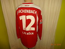 1.FC Köln saller Langarm Matchworn Trikot 2003/04 + Nr.12 Achenbach Gr.L/XL