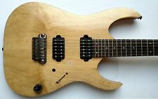 Ibanez MIJ  RGA121 Prestige  2007 Electric Guitar  J Craft Natural  w/OHSC