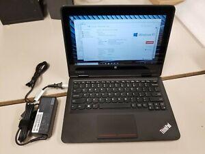 Lenovo ThinkPad Yoga 11e Core M-5Y10c 0.80GHz 4GB RAM 128GB SSD Windows 10 Home