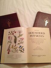 VIRTUES THE HOUSEHOLD PHYSICIAN. Illust H/B 3 Volume Set New Revised Ed 1960