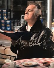 "Tony Sirico ""Paulie Walnuts Gualtieri"" The Sopranos Autographed 8X10 Pose #3 JSA"
