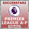 CRMG SoccerStarz PREMIER LEAGUE TEAMS A-F (like MicroStars)