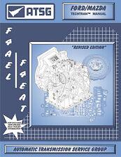 ATSG Tech Manual F4EAT F4A-EL 4EAT-F Ford Escort Mazda Kia Rebuild Book 1990-On