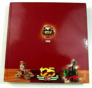 LGB Model Railroad 125th Edition Toy Train Catalog Hardbound German And English