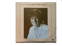 JOHNNY SPENCER * TRYING TO MATTER * SIGNED VINYL LP TANK BSS 308 PLAYS GREAT