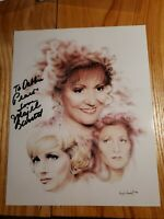 Majel Barrett Signed Autographed Inscribed 8x10 Photo (Dd)