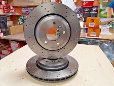 Bmw 330 330D 330ci E46 Disco De Freno Brembo Cruz perforados Trasero Brembo 320mm