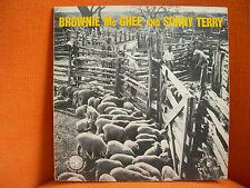 VINYL 33T – BROWNIE MC GHEE & SONNY TERRY & GENE MOORE – 1958 BLUES FOLK – EX !