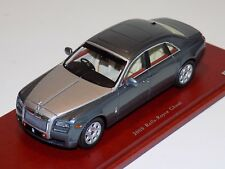 1/43 True Scale TSM 2009 Rolls Royce Ghost in Two Tone Silver TSM114321