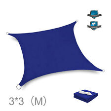 Sun Shade Sail Garden Patio Party Sunscreen Awning Canopy 90% UV Block Outdoor