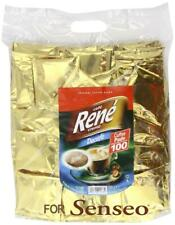 Philips Senseo 100 x Café Rene Crème Decaffeinated Decaf Coffee Pads Bags Pods