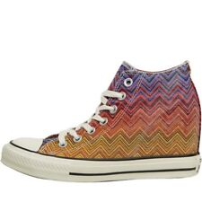 Converse X Missoni CT All Star Mid Lux Trainers, Periwinkle, UK 5.5 EU 38.5,BNIB