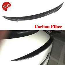 For Maserati Ghibli 2014-2020 Rear Trunk Lid Spoiler Wing Carbon Fiber Factory