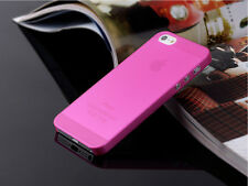 0.3mm Ultra Thin Slim Matte Hard Back Case Cover Skin For Apple iPhone4 4S 5S SE