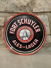 Fort Schuyler Ales and Lagers Beer Tray Utica Ny