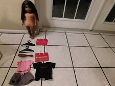 American Girl Doll #47 Truly Me Dark Brown Hair Skin Brown Eyes  w/Misc.