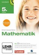 Lernvitamin - Mathematik 5. Klasse (für Realschule u...   Software   Zustand gut